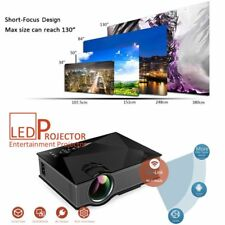 UC46 Wifi HD 1080P LED Video Projector 3D Wifi Home Theater SD TV/USB/VGA HDMI T