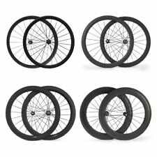 tubular/clincher 24/38/50/60/88mm road bike bicycle cycling Carbon fiber wheels