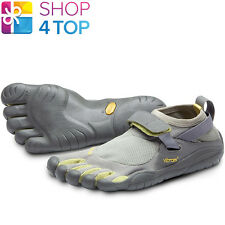 VIBRAM FIVEFINGERS SHOES KSO W145 GREY PALM CLAY WOMENS BAREFOOT NEW