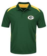 Green Bay Packers Team Apparel TX3 Cool Golf Polo Shirt Sizes L, 2XL