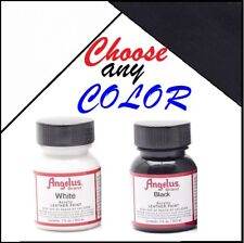 Angelus Acrylic Leather 1oz Paint Sneakers Boots Handbags Shoes Jackets Belts