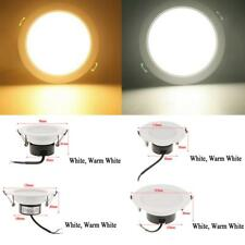 3W/5W/7W/12W Round LED Spot Light Recessed Ceiling Panel Downlight Lamp Bulb