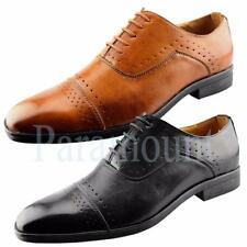 Designer Lace Up Formal Brogue Shoes  Mens Size