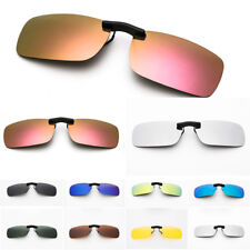 Polarized Clip On Driving Sunglasses Glasses Day Night Vision Men Women Unisex