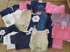 Gymboree Vintage Line Flower Power 2001 girl 3,3T Pink,Navy,wht Pant,shirt U PIC