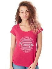 Roxy Persian Red Bobby Twist Paradise Womens T-Shirt