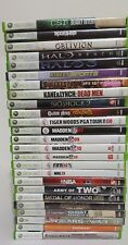 xbox 360 Games Lot Pick and Choose Halo Oblivion Madden Tom Clancy