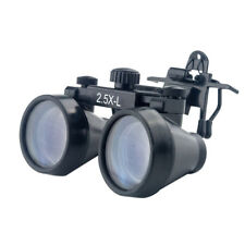 Clip On 2.5X 440-540mm Medical Surgical Binocular Magnifying Dental Loupes