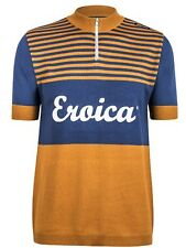 Santini Yellow 2015 Eroica California Event Series Short Sleeved Cycling Jersey