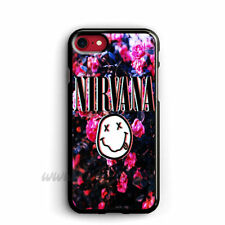 Nirvana iphone cases Flower samsung galaxy case Band ipod cover