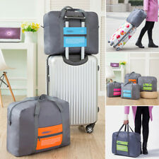 Sale!Travel Foldable Zipper Luggage Suitcases Carry On Duffle Flight Storage Bag
