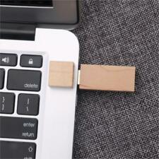 Maple Wooden USB Flash Drive Memory Stick U Disk Pen Drive for Laptop PC