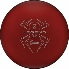 Hammer Bowling Ball Black Widow Red Legend Solid