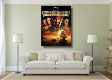 Pirates of the Caribbean Movie Johnny Depp Large Wall Art Poster Print A0 A1