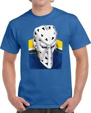 St. Louis Blues Mike Liut Hockey Goalie Mask T-shirt