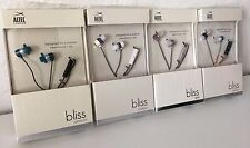 NEW Altec Lansing MZX736MIC Bliss Platinum Headphones Inline Remote Mic Wired