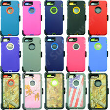 For Apple iPhone 8 Plus Full Cover Case(Belt Clip Fits Otterbox Defender Series)