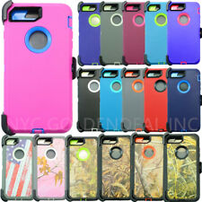 For Apple iPhone 6S/7 Plus Case Cover(Belt Clip fits Otterbox Defender series)