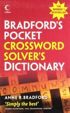 COLLINS BRADFORDS CROSSWORD SOLVERS POCKET DICTIONARY COLLINS GEM By Anne R. NEW