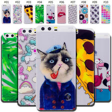 For Huawei Wiko Phones TPU Rubber Back Silicone Soft Case Cover Protective Skin