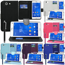 Protective Cover For sony Xperia Z3 Compact D5803 Phone Briefcase Flip Case