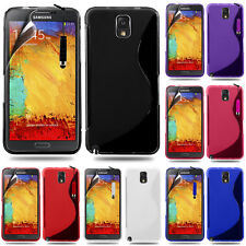Protective Cover for Samsung Galaxy Note 3 N9000/N9002 TPU Silicone Case Shell