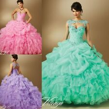 New Beaded Quinceanera Dress Ball Gowns Formal Prom Party Wedding Dresses Custom
