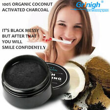 2 Box 100% Natural Coconut Activated Charcoal teeth whitening powder mint flavor