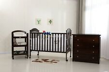 BRAND NEW CLASSIC COT PACKAGE - COT, DRESSER, CHANGE TABLE,BABY MAT & MATTRESS