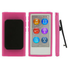 Protective Rubber Shell Case Cover for Apple iPod Nano 7th Generation 7G 7