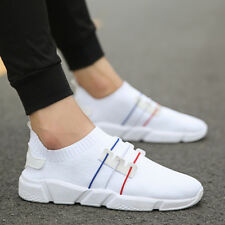 Red White & Blue Sport Leisure Canvas Comfy Men Casual Thick Sole US7-10 Sneaker