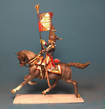 Napoleonic Wars — Standard-bearer horse grenadiers —  High quality Lead Figure