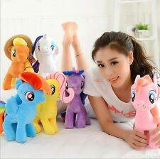 "1PC Hot 10"" My Little Pony Horse Figures Stuffed Plush Teddy Doll kids Fun Toy."