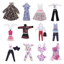 1/6 Doll Clothes Pajamas/Swimsuit/Tops/Pants/Skirt for Barbie Girl Doll Dress Up