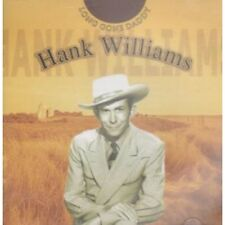 HANK WILLIAMS Long Gone Daddy DOUBLE CD UK Snapper 2002 40 Track 2 Disc Set