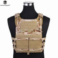 Tactical Combat Vest Military Camouflage Cloth Airsoft Paintball Wargames New