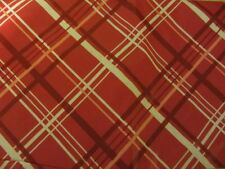 "VALENTINE'S DAY PLAID VINYL TABLECLOTH FLANNEL BACK 52"" X 90"""