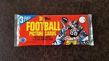 1982 TOPPS FOOTBALL GROCERY RACK PACK (36) CARDS - Lawrence Taylor, R. Lott RC?