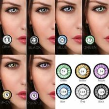 Coloured Contact Lenses Crazy Halloween Coloured Cosmetic Makeup Cosplay lens F5