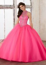 2018 New Evening Quinceanera Formal Prom Party Pageant Ball Dresses Bridal Gowns