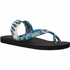 Sanuk SWS10672-IPNW Womens Yoga Sling It On Prints Sandal/Flip Flops/Slipper