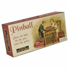 Retro Wooden Pinball Game
