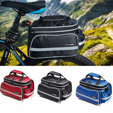 Hotspeed Luggage Convertible Bag Cargo Carrier Bike Rear Seat Travel Outdoor New