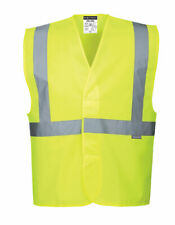 Safety Vest Reflective Hi Vis High Visibility ANSI Class 2, Portwest C472