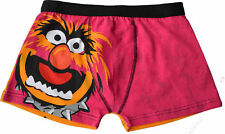 (1 Pair) Mens Muppets Animal Boxer Shorts Mens Novelty Gift boxers Trunks