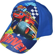 Boys - Blaze and the Monster Machines Baseball Cap Summer Hat - 2 to 7 Years