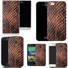 art case cover for many Mobile phones -  animal skin design silicone.