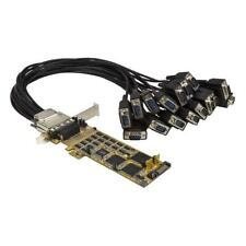 StarTech.com 16 Port PCI Express Serial Card - Low-Profile - High-Speed PCIe Ser