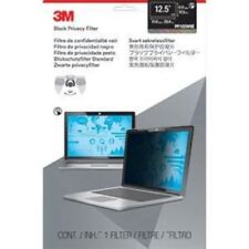 "3M Privacy Filter for 12.5"" Edge-to-Edge Widescreen Laptop Black - For 12.5""LCD"