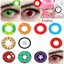 Halloween Cosmetic Contact lenses Circle Big Eyes Crazy Color Eyes Makeup BY